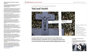 Papst Franziskus - Tod und Teufel
