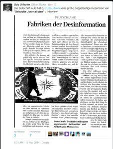 Aula und Zur Zeit - Fabriken der Desinformation