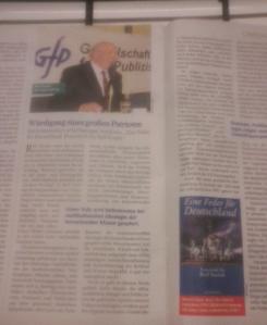 Einer Feder für Deutschland wünscht FPÖ-ZZ weiteste Verbreitung