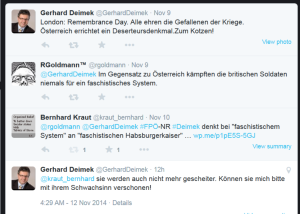FP-NR Gerhard Deimek - faschistischen Habsburgerkaiser