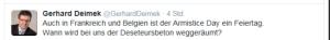 FPÖ NR Gerhard Deimek Deserteursbeton 9-11-2014