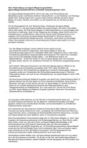 FPÖ-ZZ 44-2014 - Ehrenrettung von Agnes Miegel ist gescheitert
