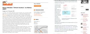 Haxenspreizer - Neues Volksblatt - Nichtrecherche