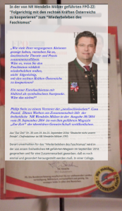 Inseratenaffäre FPÖ - Zur Zeit