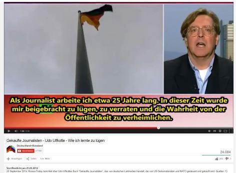 Udo Ulfkotte - zu lügen - zu verraten