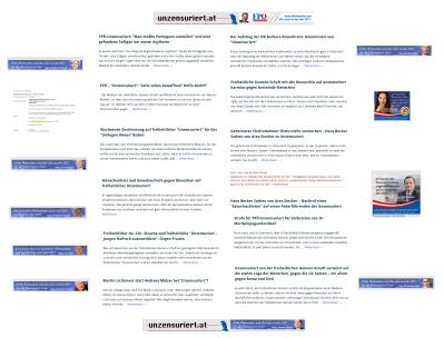 Adventkranz FPÖ-Wünsche an Unzensuriert-Schreibstaffel