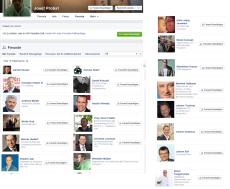 Facebook - Freund bedeutender Herren