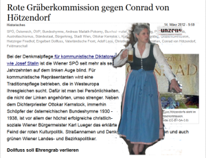 FPÖ Unzensuriert Kernstock Rosenkranz