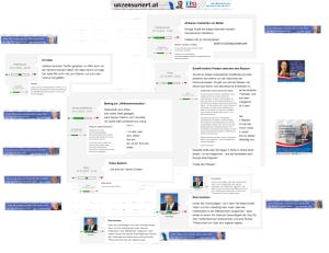 FPÖ-Unzensuriert - Wertungszahlen im Vergleich 8-12 bis 10-12.2014
