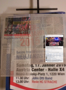 FPÖ Zur Zeit 51-52-2014 Pegida Stein