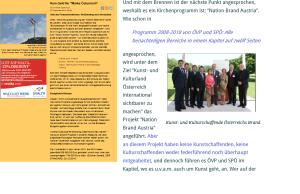 Nation Brand Austria - Budgetnot treibt den Herrgott aus