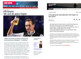 Pegida FPÖ - Nach oben buckeln - nach unten treten