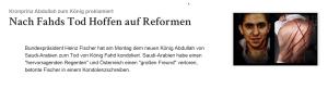 Raif Badawi - Saudi-Arabien
