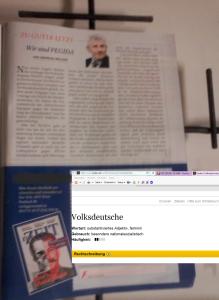 Zur Zeit FPÖ - Volksdeutsche - Erklärung Duden