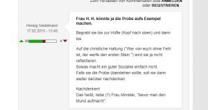 FPÖ Unzensuriert - Zustimmung nimmt weiter zu - 18-02-2015