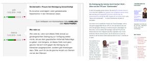 FPÖ-Unzensuriert - Zustimmung zur Forderung nach Steinigung nimmt weiter zuu