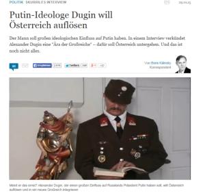 Putin-Ideologe Eisele will Völker Deutschlands unter Christenfürsten Habsburg