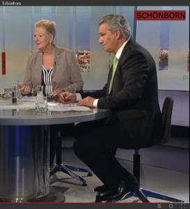 ORF - Handlos-Patterer im Sender Schönborn