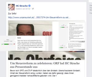 Unzensuriert - Strache - Pressestunde - 17-032-2015
