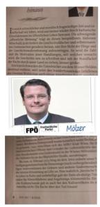 Zur Zeit FPÖ Hinauswahl alles allen politischen Gremien