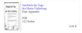 Tagebuch Underberg - Unterberger Andreas