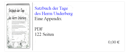 Tagebuch Underberg - Unterberger Andreas