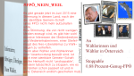 Stoppable identitäre Gemein-Schaft FPÖ
