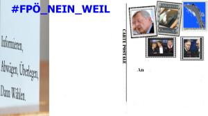 Wahlkarte zur Vorauswahl