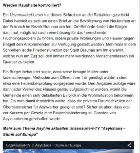 Betagte Mutter auf FPÖ-Unzensuriert