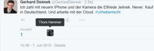 FPÖ-NR Gerhard Deimek will nicht mehr in Österreich einkaufen