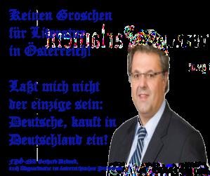 FPÖ NR Gerhard Deimek will niicht mehr in Österreich kaufen