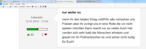 FPÖ Unzensuriert drei Tage später wieder mehr Zustimmung