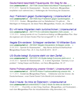 FPÖ-Unzensuriert-Schreibstaffels Geschichtsdeutung