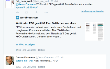 Gernot Darmann - FPÖ - Unzensuriert