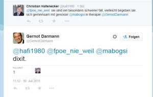 Hafenecker und Darmann einig