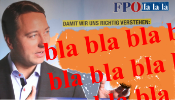 Kickl - bla bla bla FPÖ la la la