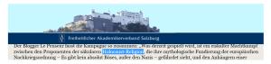 Freiheitlicher Akademikerverband - Holocaust-Religion - 26-08-2015