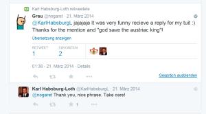 Karl Habsburg Lothringen gefällt eine Phrase besonders