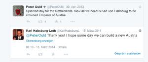 Karl Habsburg Lothringen möchte was bauen