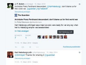 Karl Habsburg Lothringen Twitter