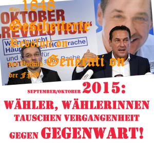 Wahlen - Tausch Vergangenheit gegen Gegenwart