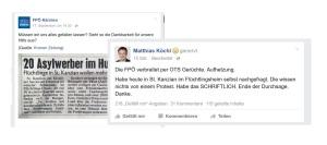 20 Asylwerber nicht im Hungerstreik - FPÖ im Wahrheitsdauerstreik