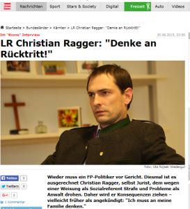 Christian Ragger - Muß an meine Familie denken