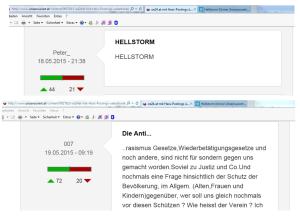 Hellstorm seit vier Monaten auf FPÖ Unzensuriert