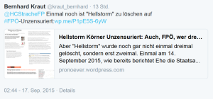 Hellstorm Strache Unzensuriert FPÖ