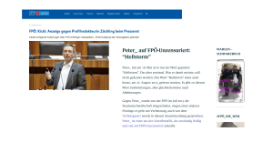 Herbert Kickl und Peter_ - FPÖ - Unzensuriert