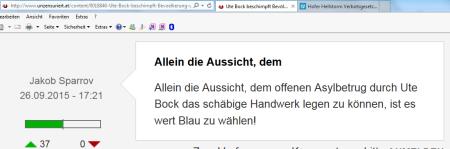 Schreibstaffel FPÖ unzensuriert 28-09-2015