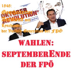 Septemberende der FPÖ