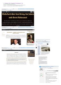 Unzensuriert FPÖ und Website die die Wahrheit über den Krieg mit Theordor Körner