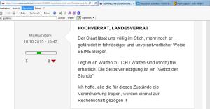 MarkusStark FPÖ unzensuriert - Legt euch Waffen zu